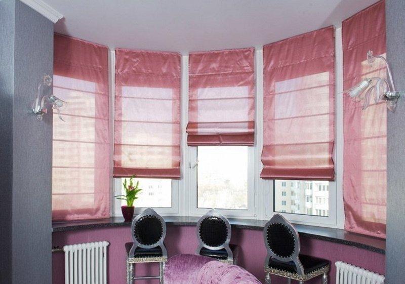 шторы в обычной квартире