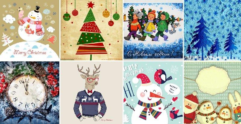 Выберешь новогоднюю открытку — узнаешь, что тебя ждет в 2019 году