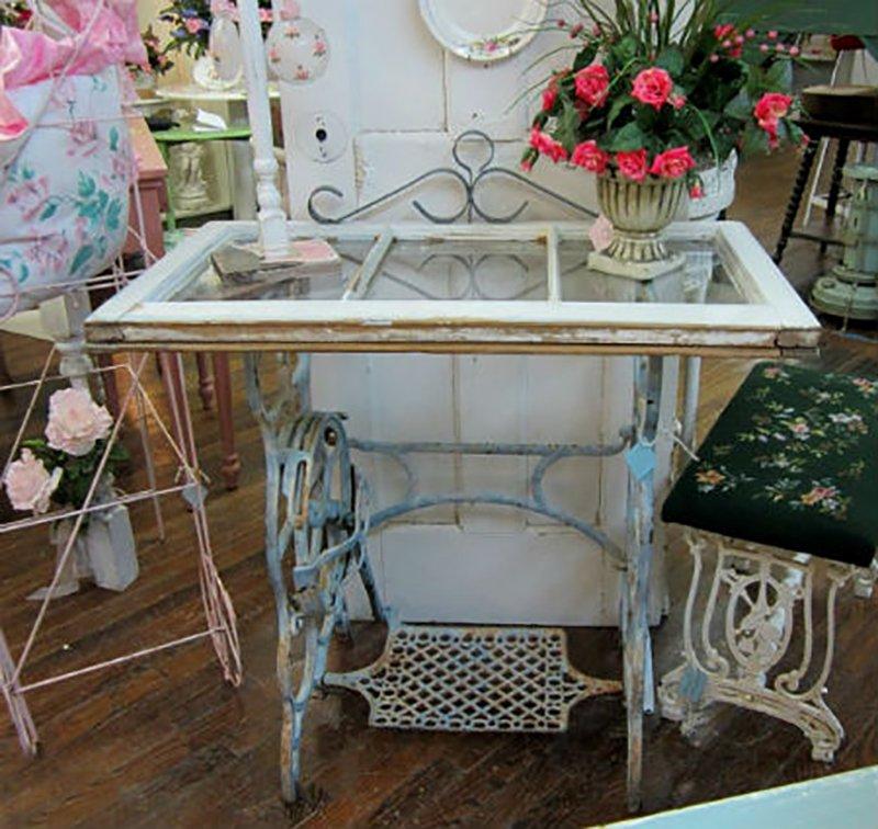 ретро мебель из подручных материалов