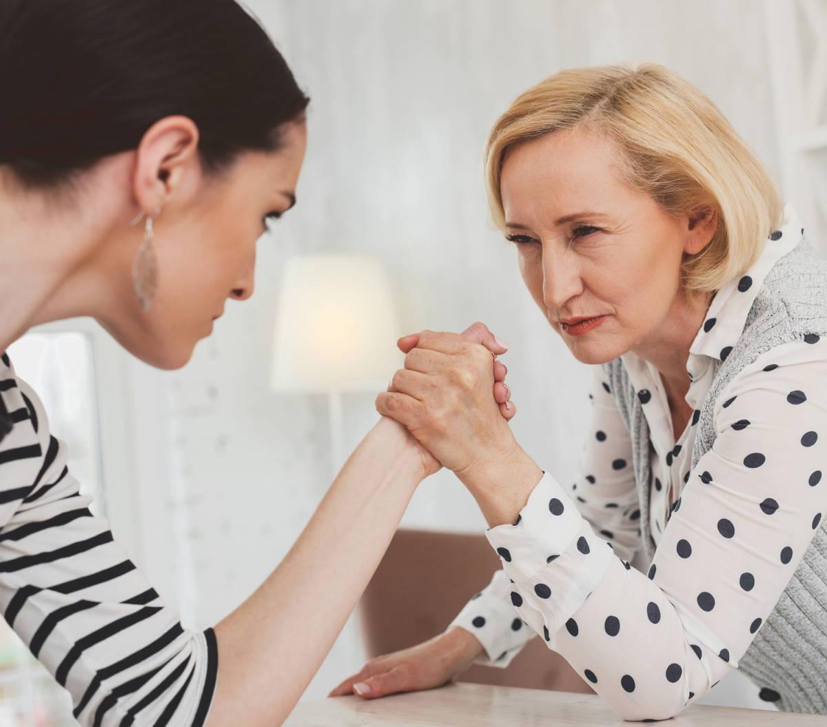 сильный темперамент у женщин