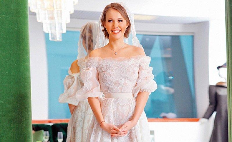 свадебное платье собчак