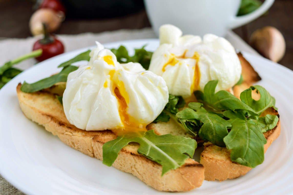 сварить яйца в духовке