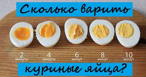 Отличный эксперимент, после которого ты точно будешь знать, сколько нужно варить яйца!