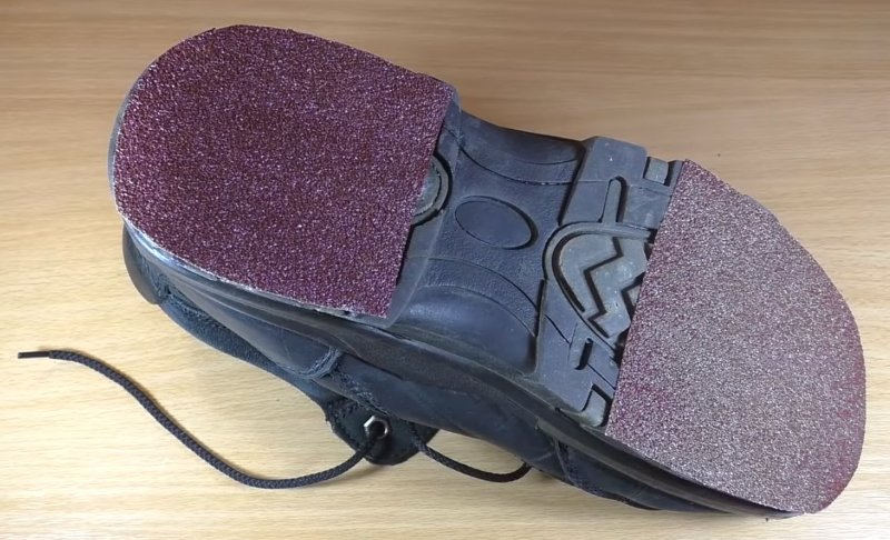 скользящая подошва обуви
