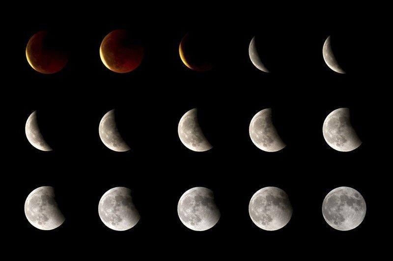 символ луны