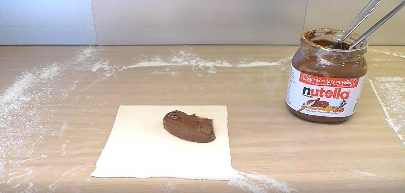 пирожки с «Нутеллой»