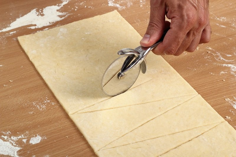слоеное тесто для круассанов