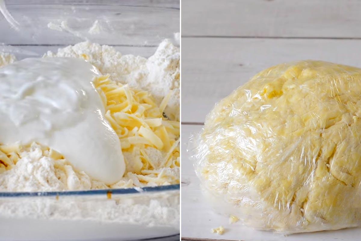 тісто для слоек, рецепт