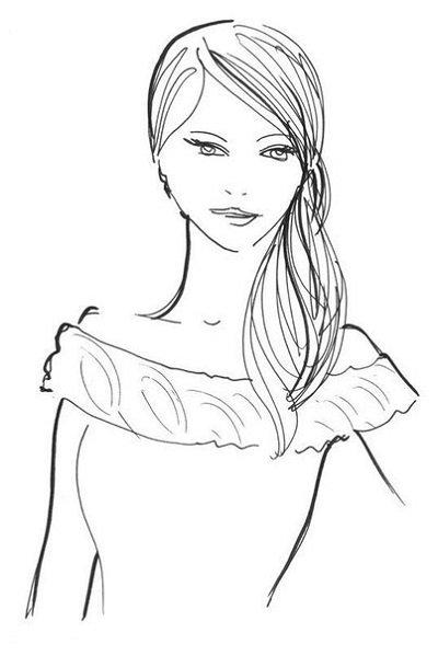 прически и платья