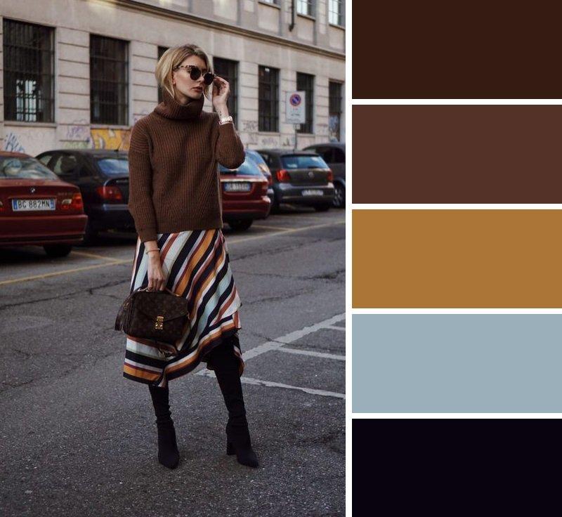 сочетания цветов идеальные
