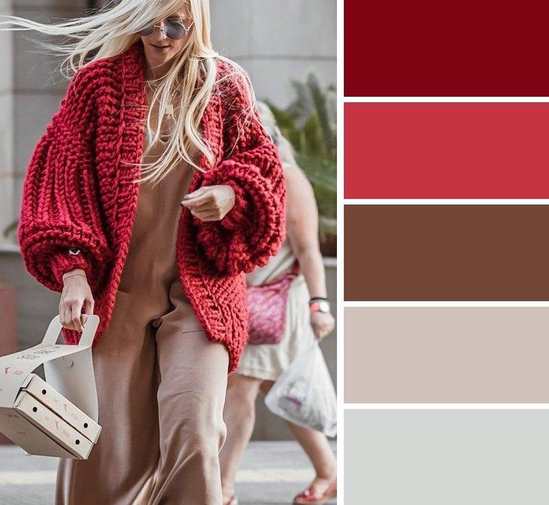 сочетание цветов одежда