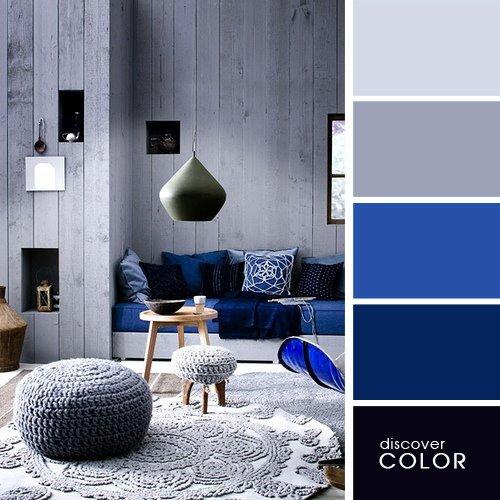 комната в серых оттенках