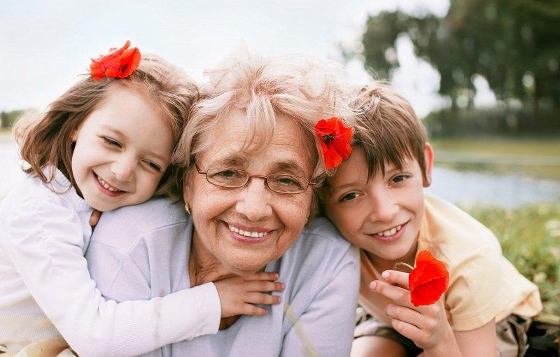 сочинение про добрую бабушку