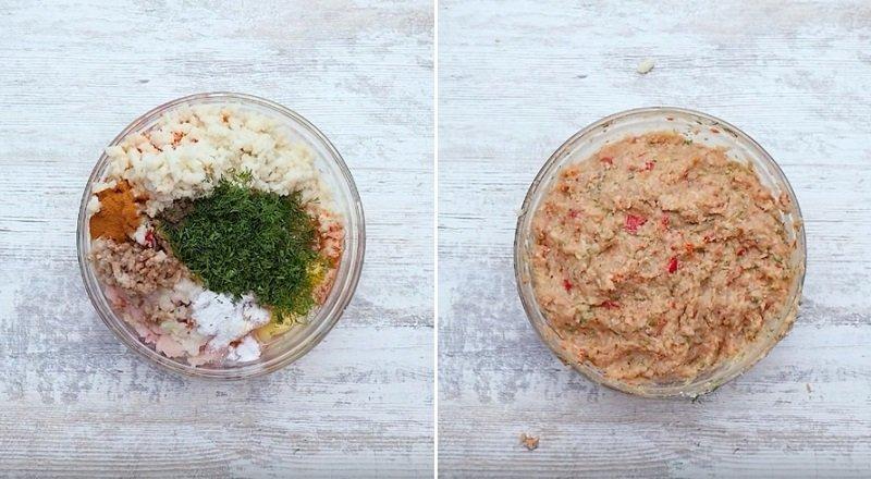 рецепт куриных котлет с капустой