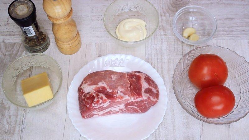 свиные отбивные в духовке с сыром