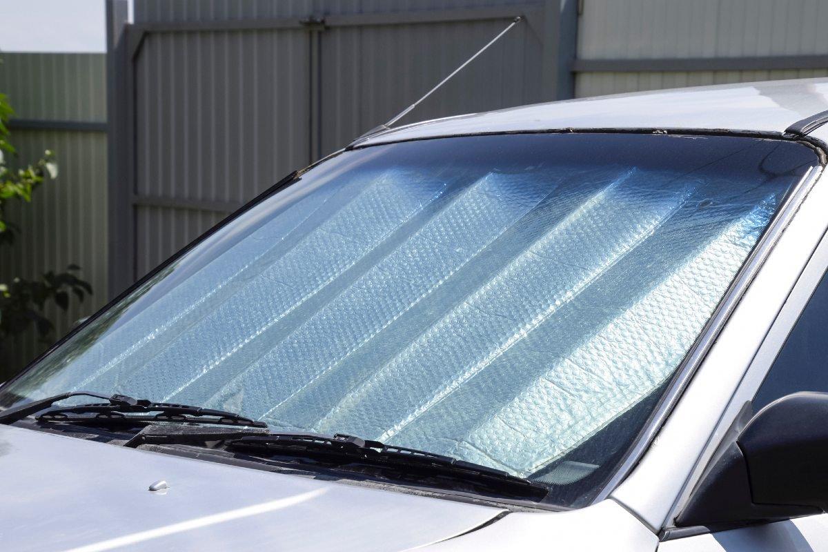 Солнцезащитный экран и его правильное расположение