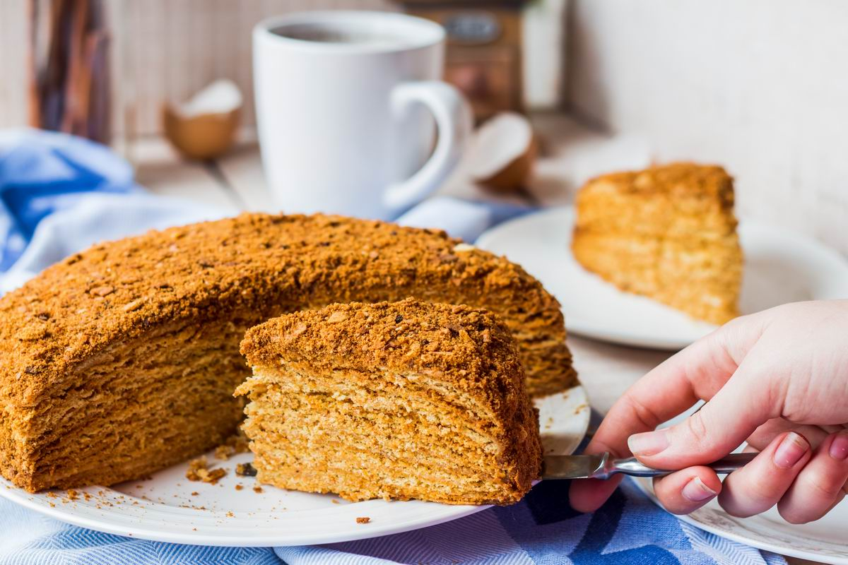 советский торт муравейник