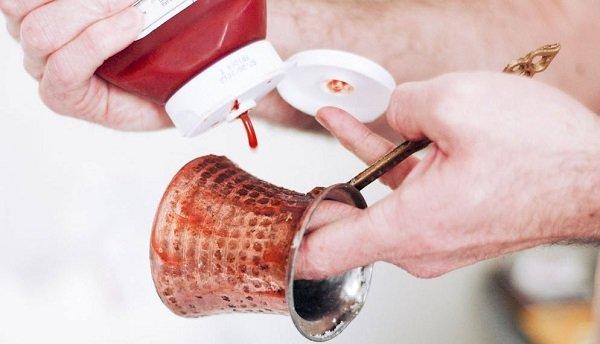как очистить турку