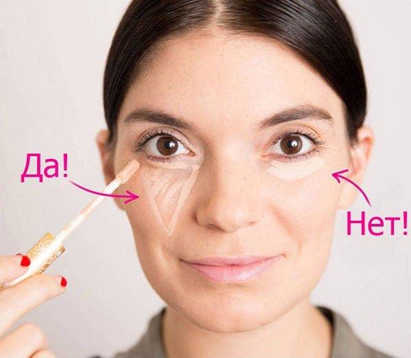 как правильно замаскировать круги под глазами