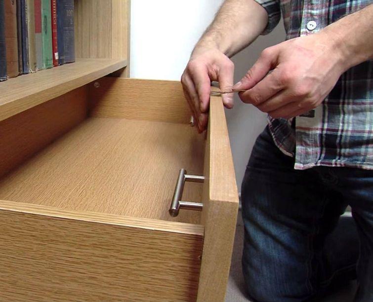 ручки для шкафчиков из скотча