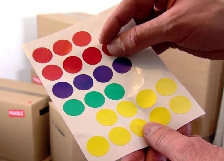 разноцветные кружочки