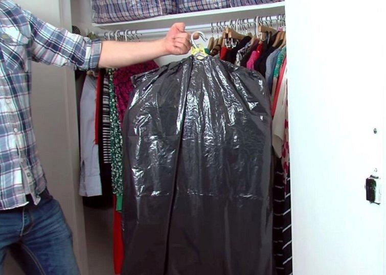 как перевозить одежду