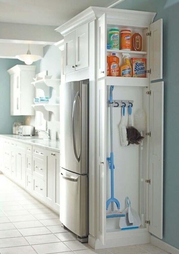 шкафчик для чистящих средств