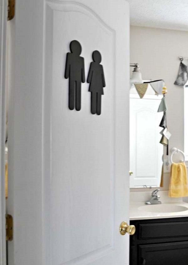 дверь ванной комнаты