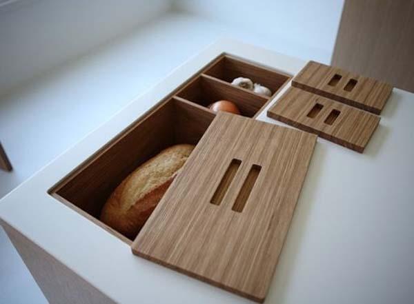 место для хранения хлеба