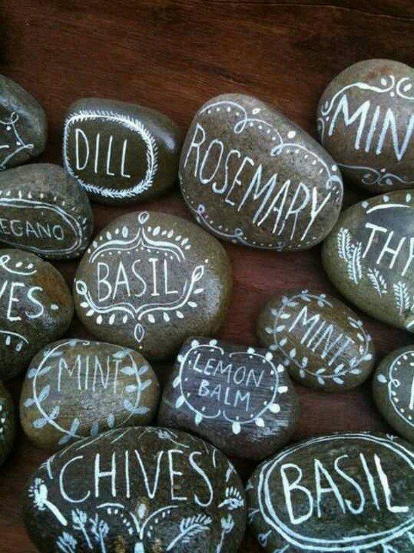 камни для сада