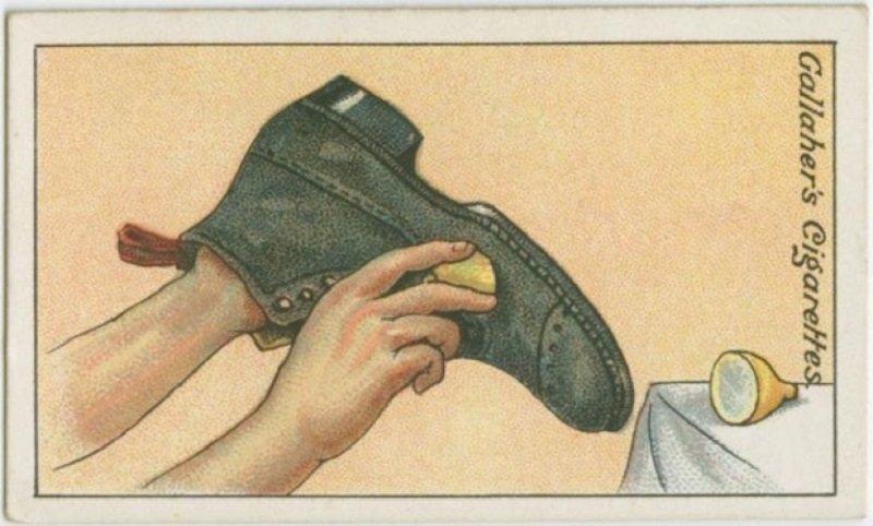 ботинки уход