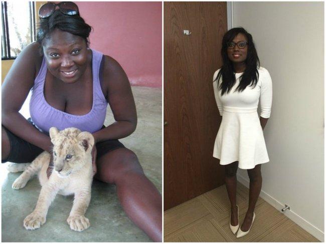 похудели до и после фото на галя