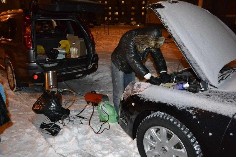 лайфхаки для машины зимой