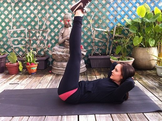 6 простых упражнений, сочетающих в себе йогу и пилатес. Что может быть эффективней?!