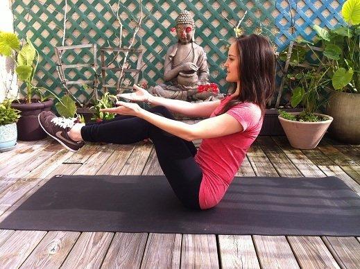 упражнения из йоги и пилатеса