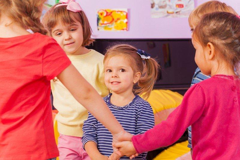 детский сад и дети