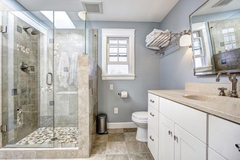 оформление ванной комнаты в квартире