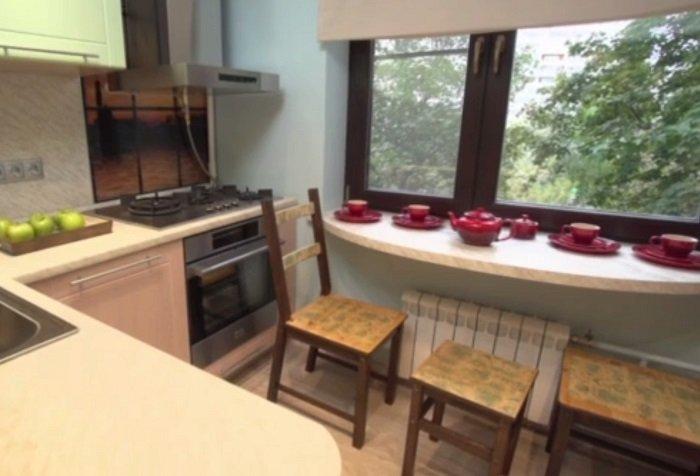 дизайн маленькой кухни интерьер