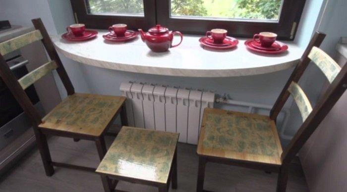 интерьер и дизайн маленькой кухни