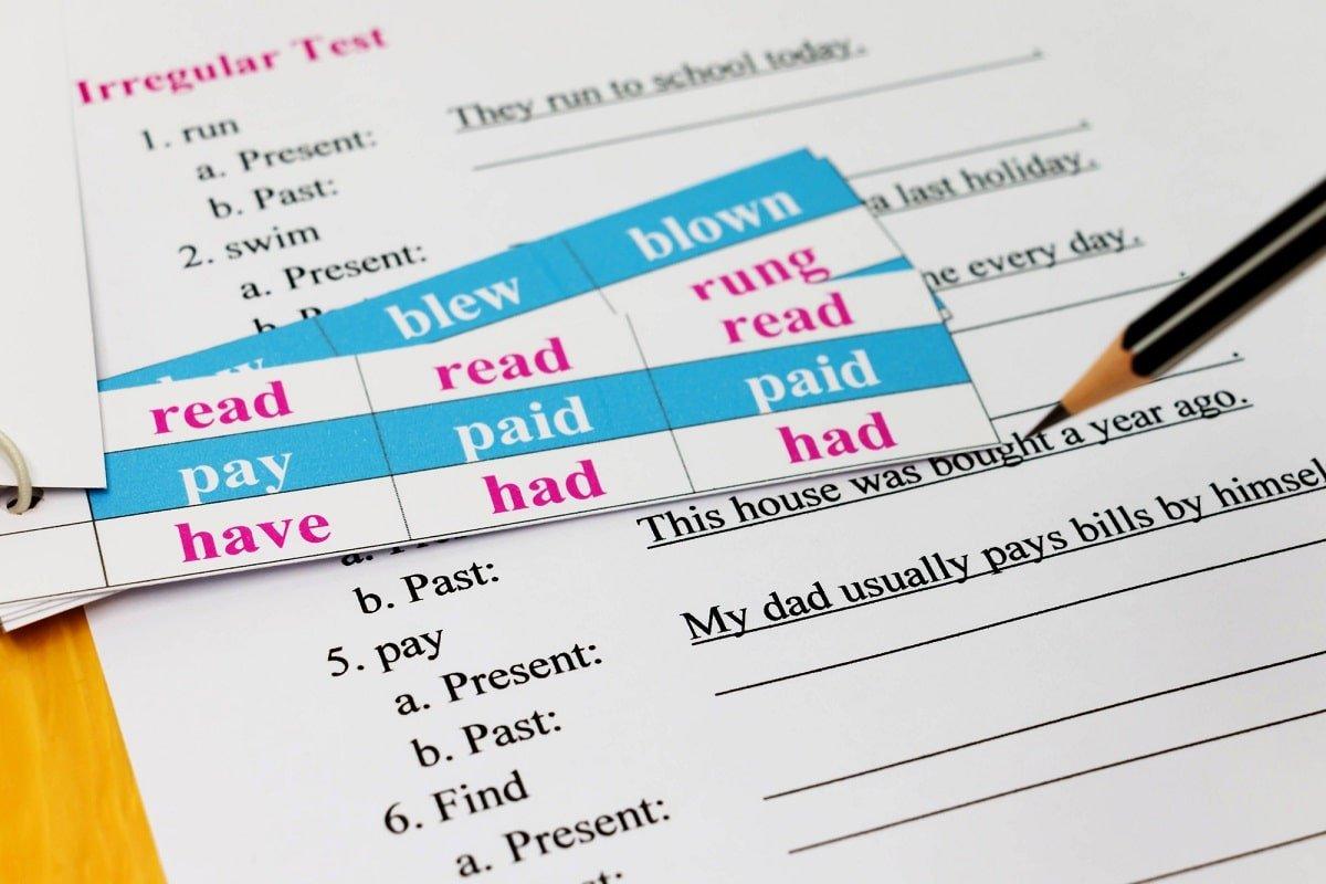Список неправильных глаголов в английском языке и как их легко запомнить