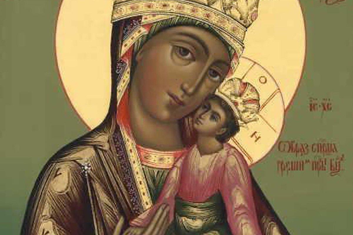 Очищающая молитва перед иконой «Споручница грешных»