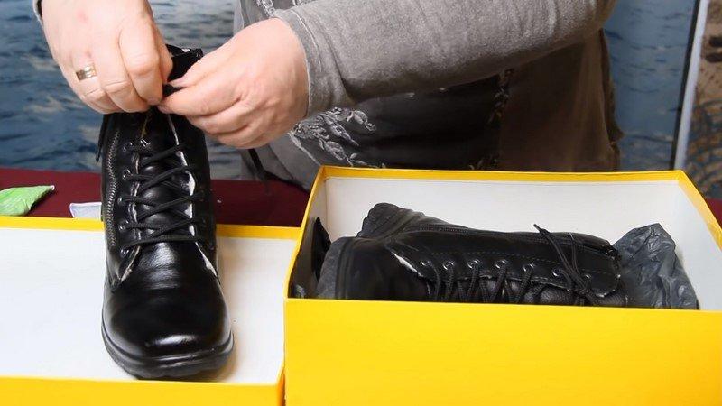 уход за обувью вазелин