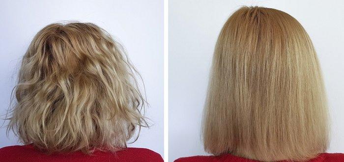 уход за кудрявыми волосами летом