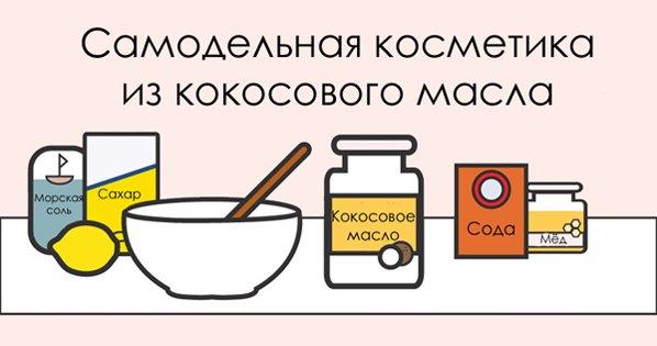 10 рецептов косметики из кокосового масла. Универсальное средство для твоей красоты!