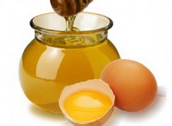 мёд и яйцо