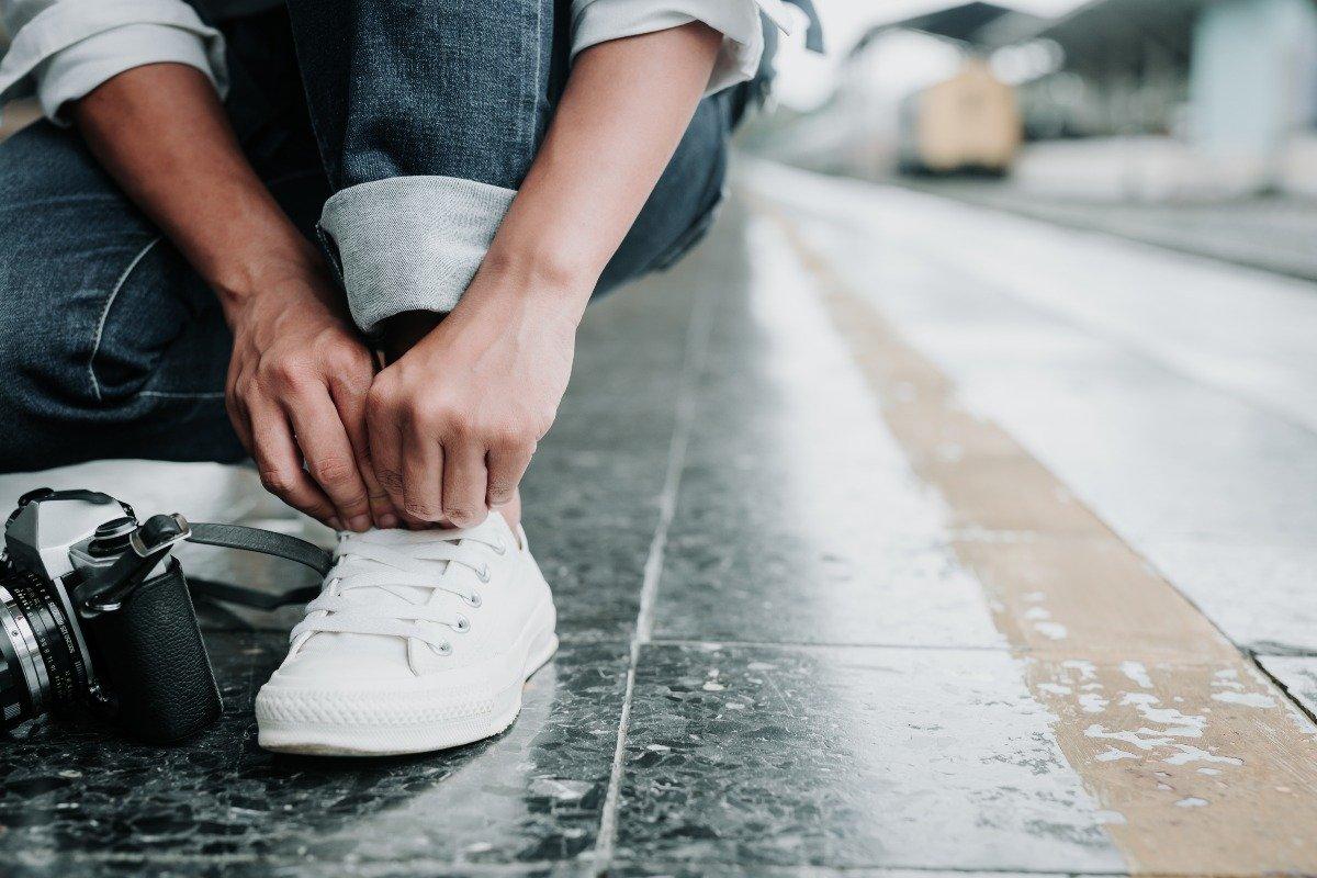 грязеотталкивающее средство для белой обуви