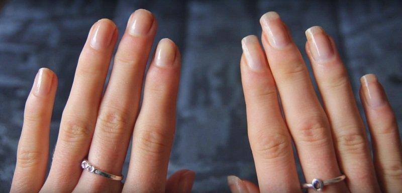 длинные ногти в домашних условиях