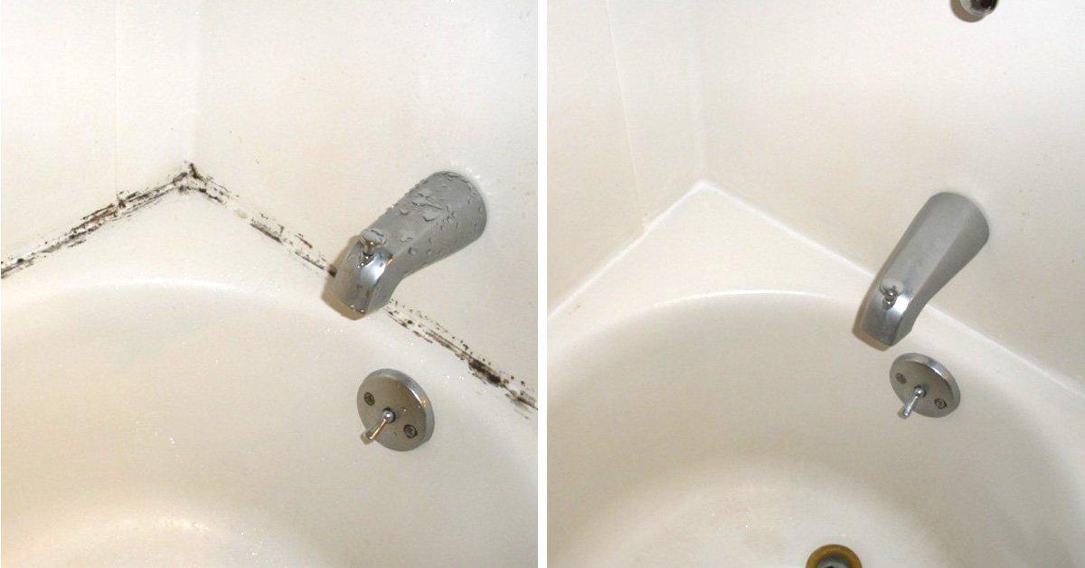 Как убрать плесень в ванной комнате на стенах своими руками 75