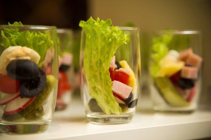 овощной микс в стакане