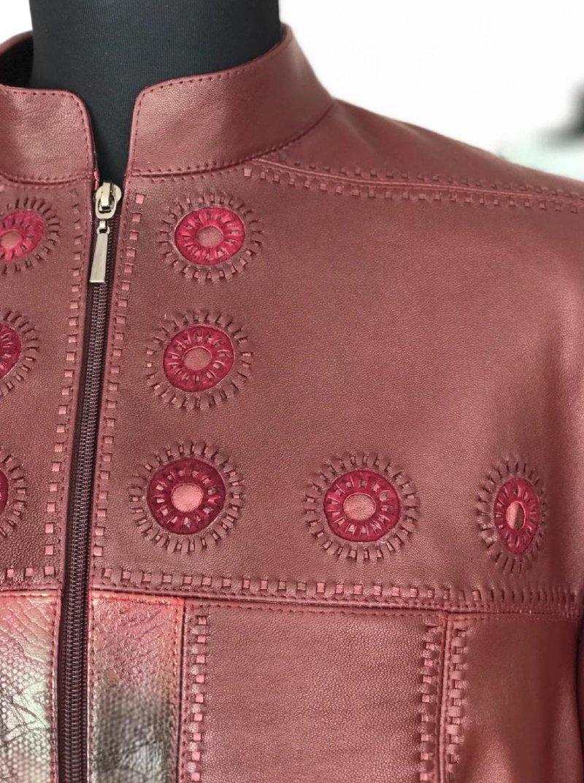 как переделать старую кожаную куртку в модную